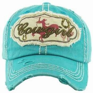 """Cowgirl Up"" Cap 梨"